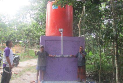 Pembangunan SAB Desa Pasir Barat
