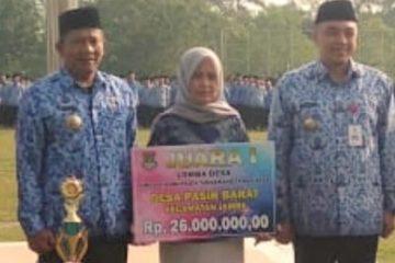 Setelah Juara 1 Lomba Desa Tingkat Kabupaten, Desa Pasir Barat Incar Juara 1 Tingkat Provinsi Banten Tahun 2019