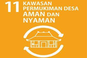 SDGs Desa Nomor 11 : Kawasan Pemukiman Desa Aman Dan Nyaman Tahun 2021