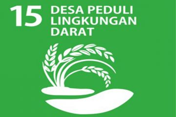 SDGs Desa Nomor 15 : Desa Peduli Lingkungan Darat Tahun 2021