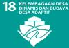 SDGs Desa Nomor 18 : Kelembagaan Desa Dinamis Dan Budaya Desa Adaptif Tahun 2021