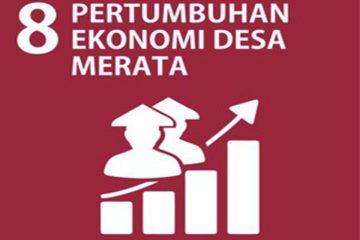 SDGs Desa Nomor 8 : Pertumbuhan Ekonomi Desa Merata Tahun 2021