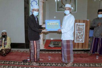 Bantuan Kegiatan Tarawih Keliling Tahun 2021 Untuk Masjid Jami Baitussalam